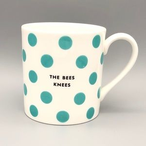 "Kate Spade Chic Speak 10oz ""The Bees Knees"" Mug"
